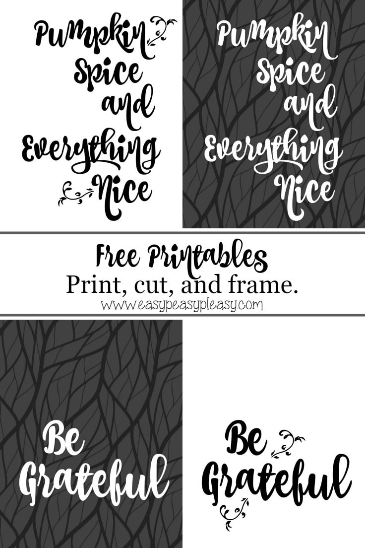 Give thanks with these free Thanksgiving printables.