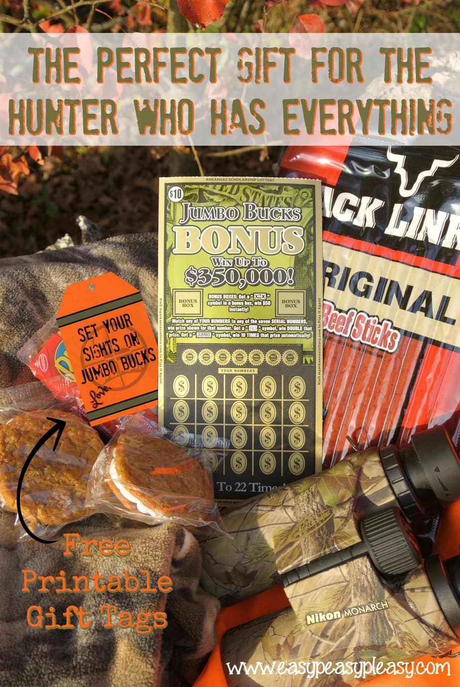 The perfect gift for the hunter who has everything plus free printable gift tags. Surprise your favorite hunter with the gift that keeps on giving. Arkansas Lottery Scratch Off Tickets.