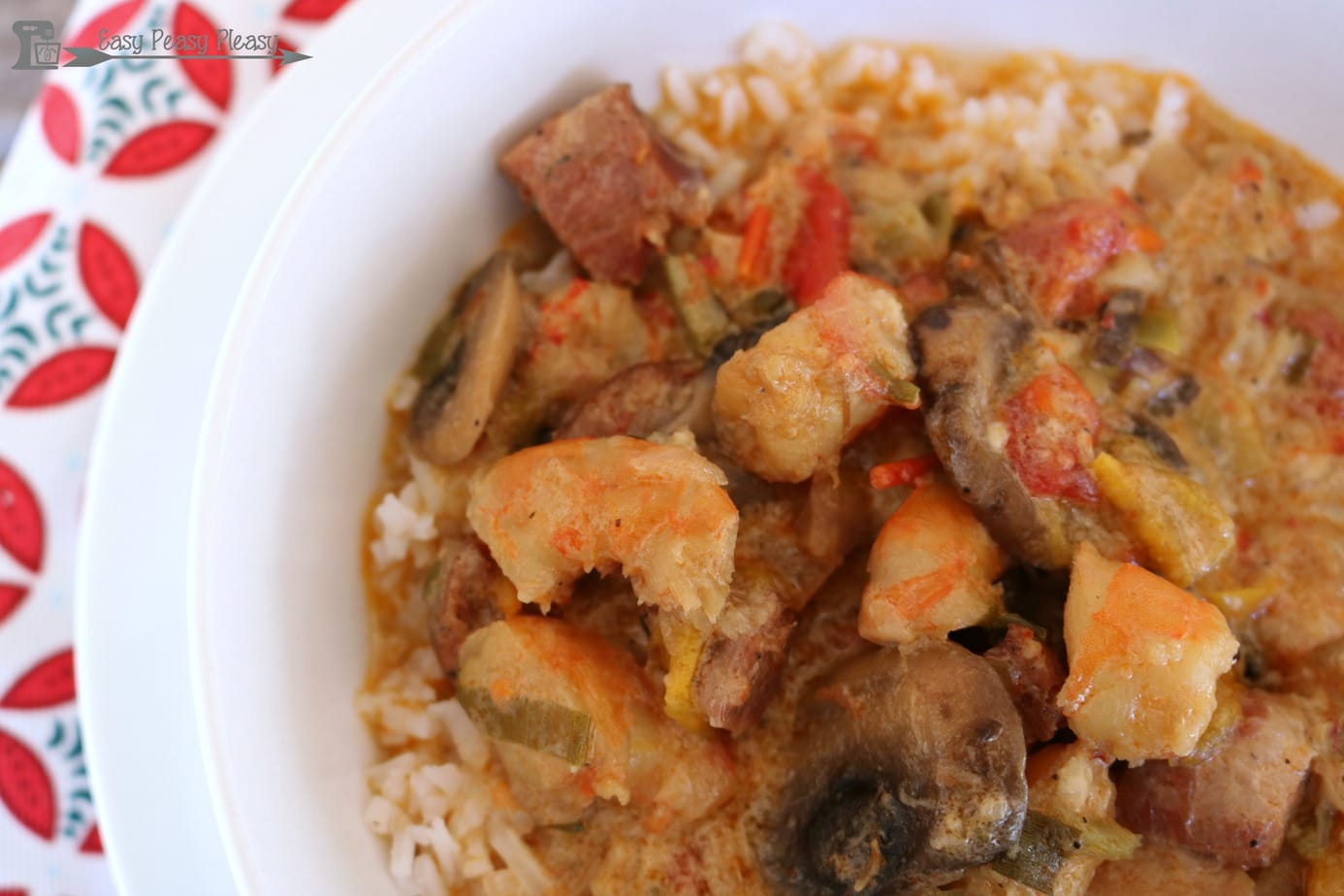 Delicious Easy and Hearty Etouffee made easy!