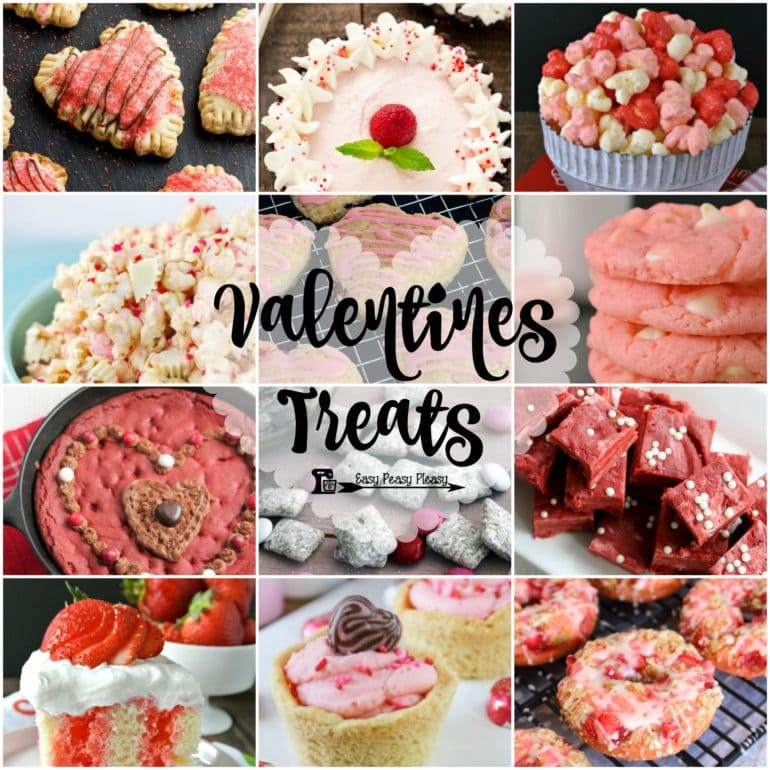 Easy Valentine Treats to make your Valentine's Day special. Valentine Sweets for your sweetie.