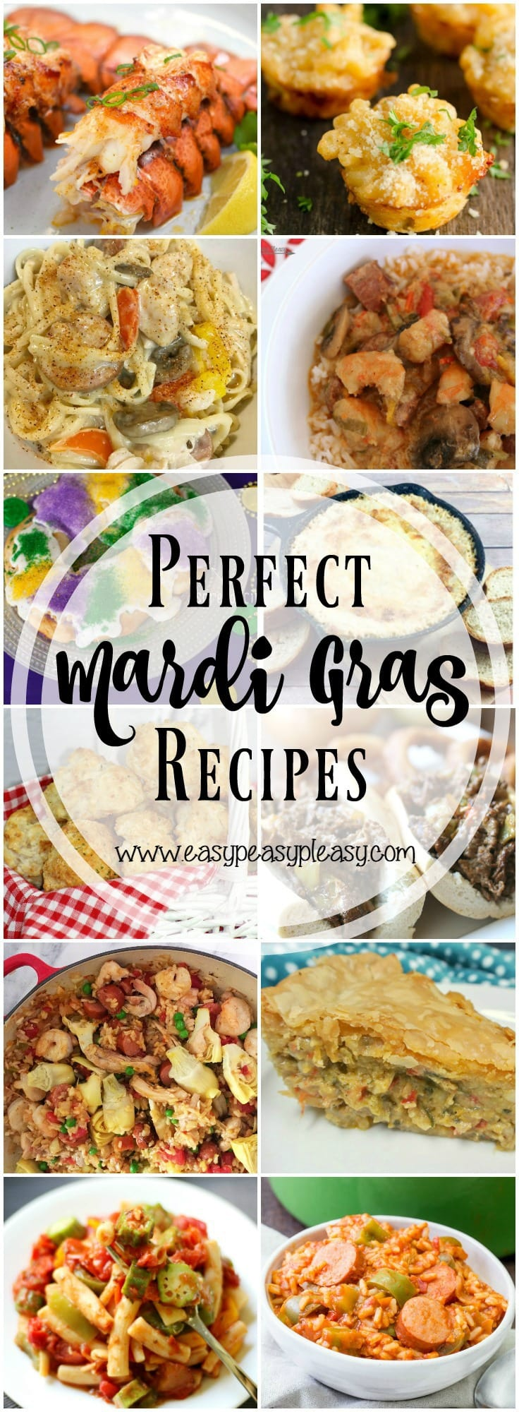 Perfect Mardi Gras Recipes.