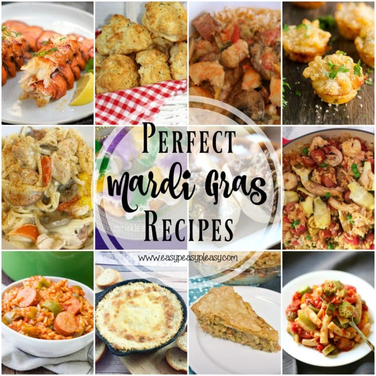 Perfect Recipes to make for Mardi Gras!