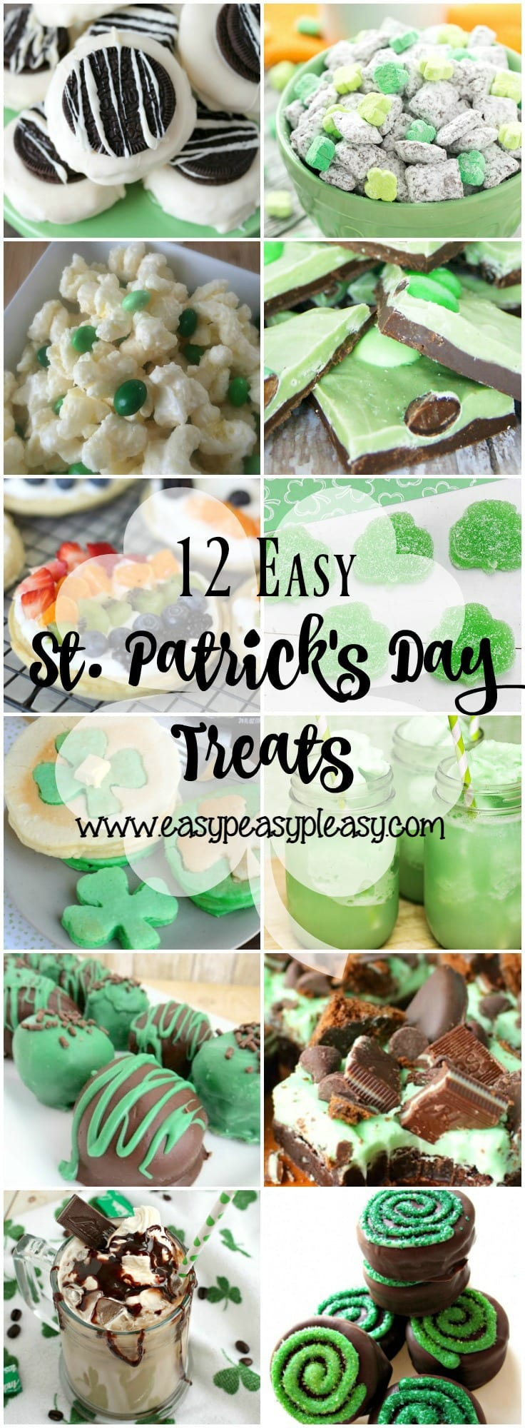 12 Easy St. Patrick's Day Treats!