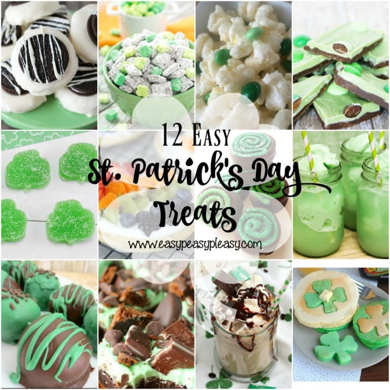 12 perfectly easy St. Patrick's Day Treats!