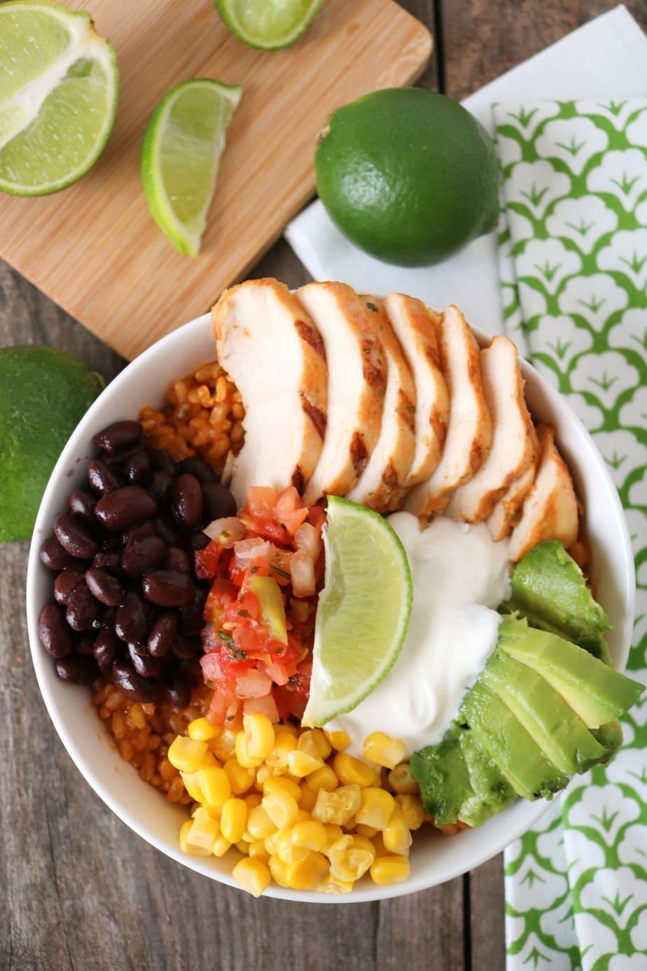 Mexican Brown Rice Cantina Bowl
