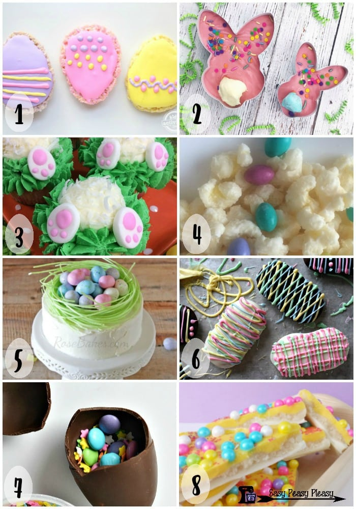 Check out these cute Easy Easter Sweet Treats 1-8 of 16.