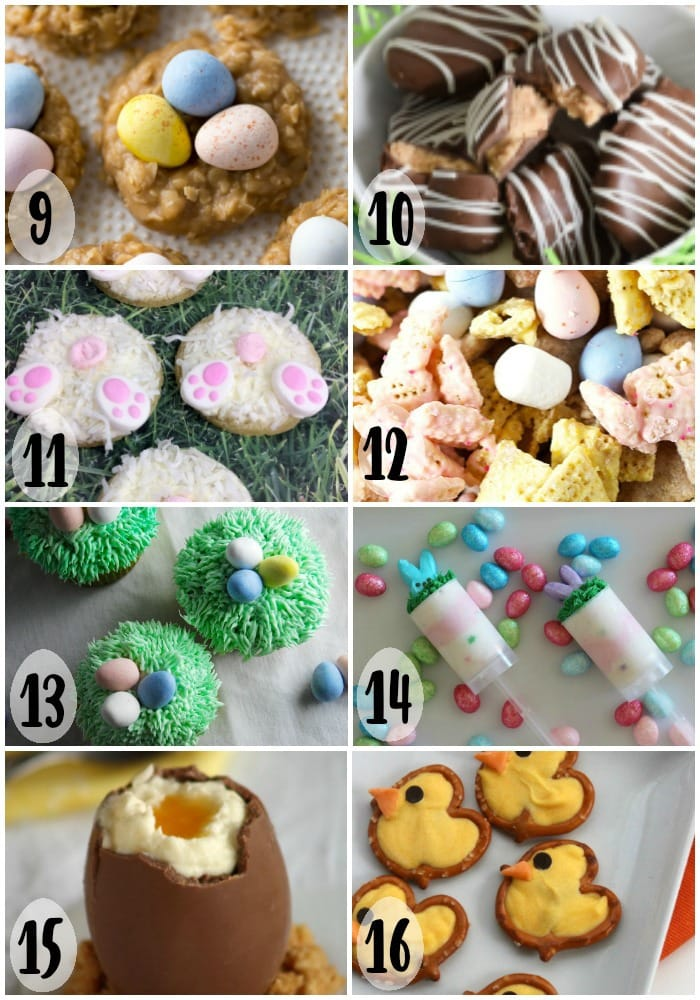 Check out these cute Easy Easter Sweet Treats 9-16 of 16.