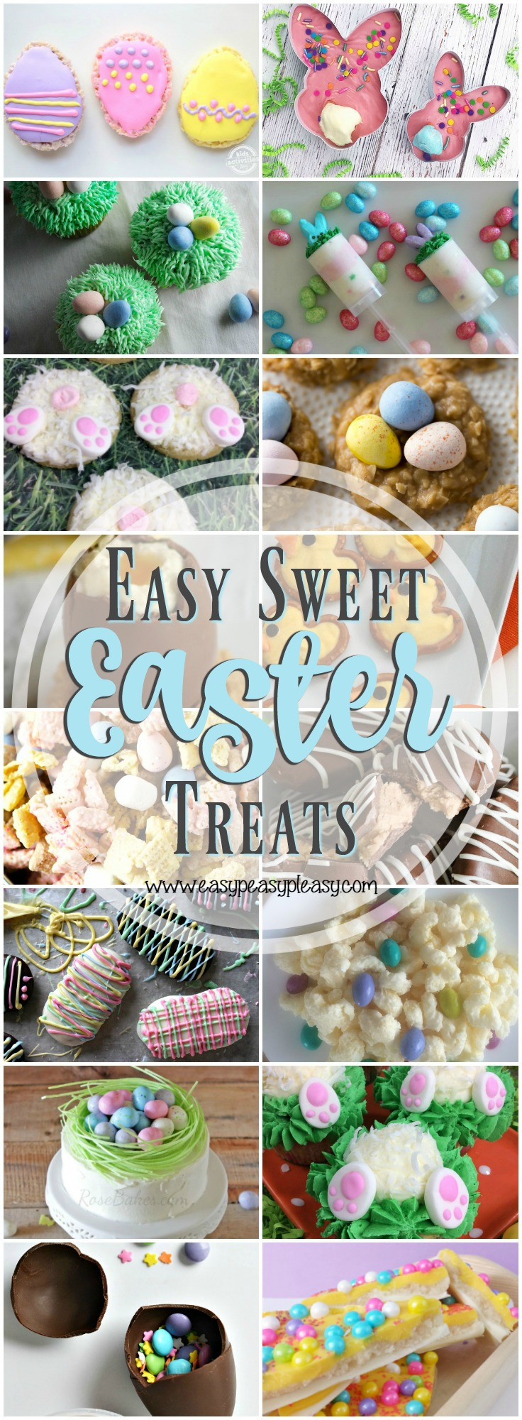 Go ahead...check out these fabulously easy sweet Easter Treats. You're gonna love them!