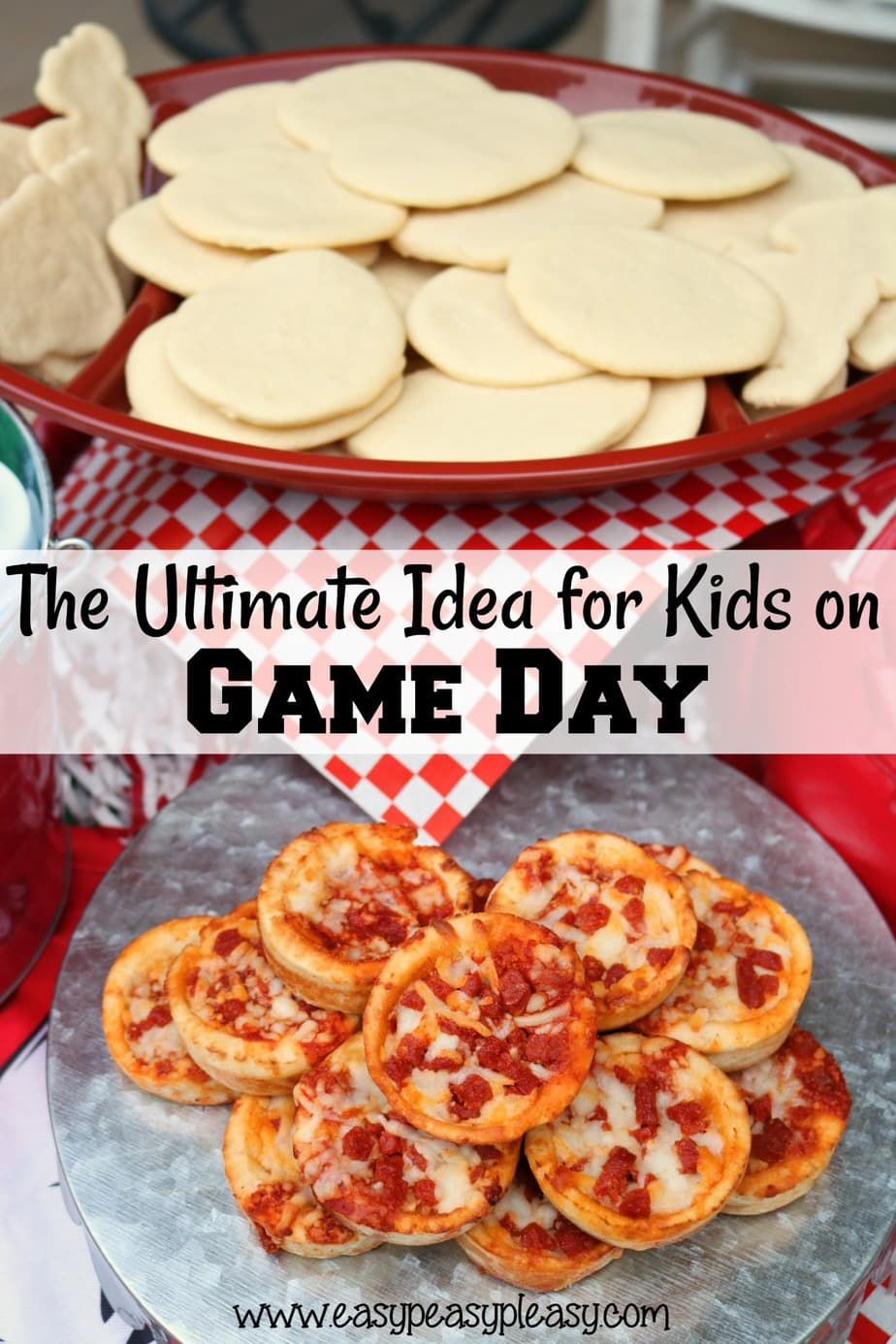 Check out the ultimate idea for kids on game day with this winning combo!