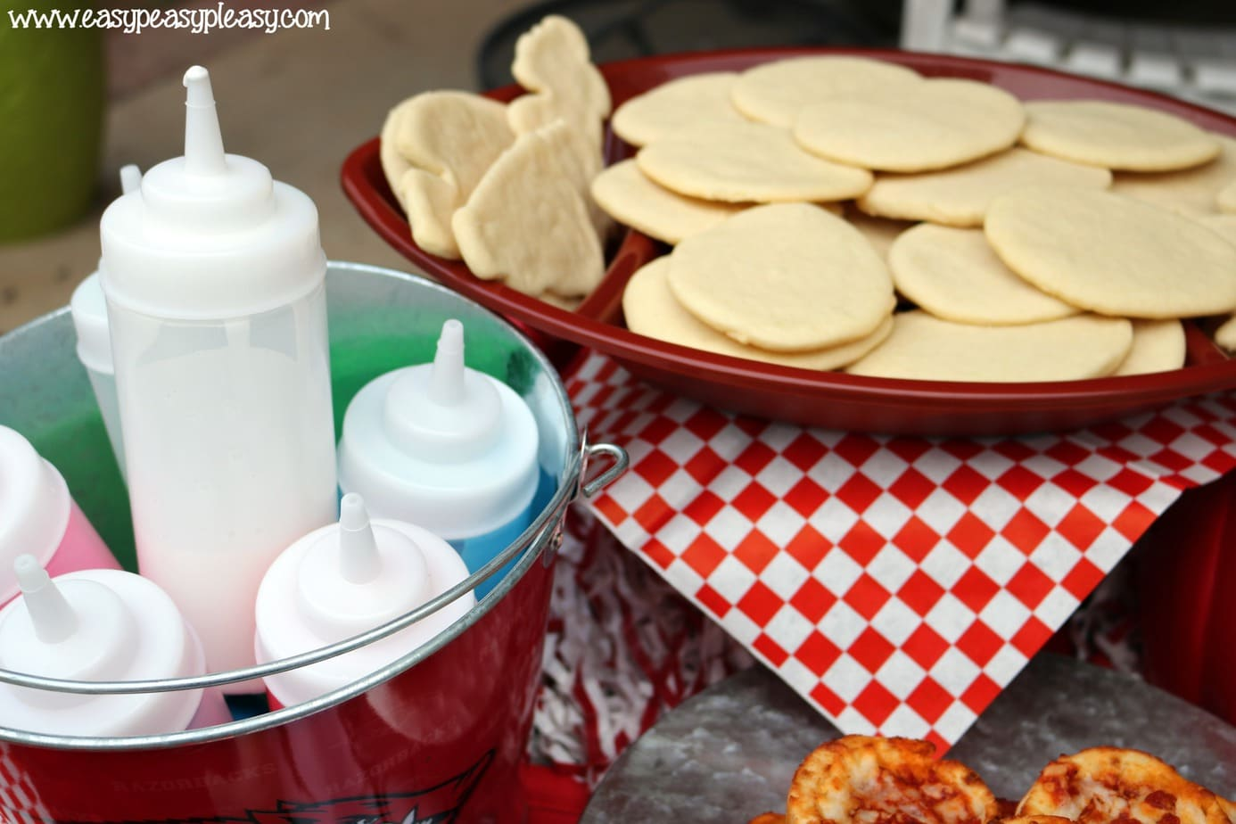 Essentials for cookie decorating with kids.