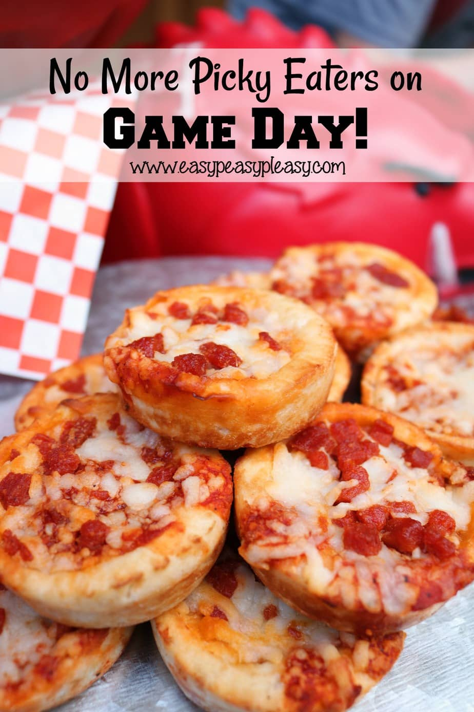 No need to worry about kids who are picky eaters on game day!