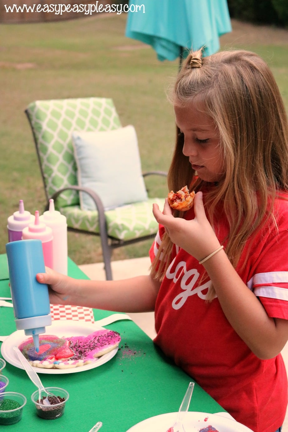 Pizza + Cookie Decorating = Game Day Fun For Kids