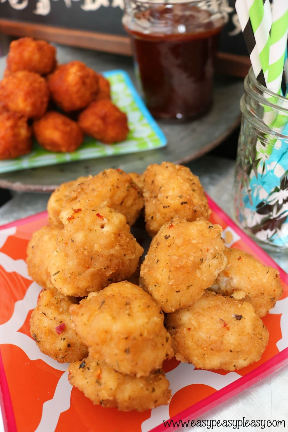 Tyson Chicken Parmesan Boneless AnyTizer Wingz are a perfect addition to a chicken slider bar!