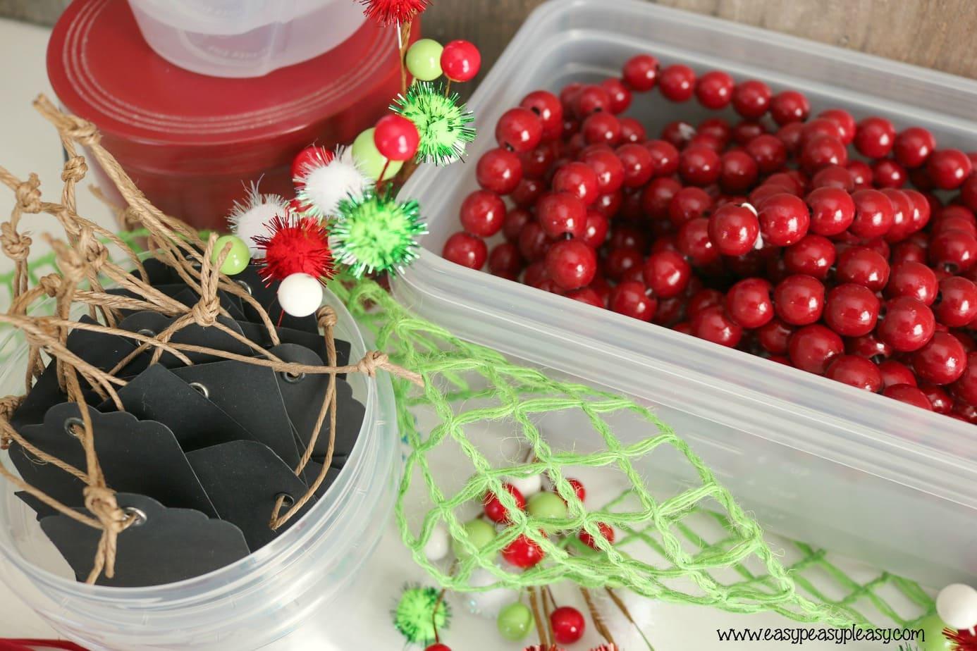 AD Ziploc holiday storage idea. to store g