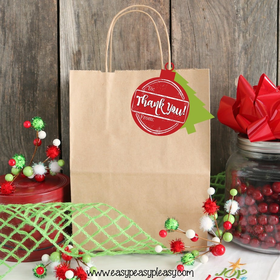 Easy Free Printable Holiday Hostess Gift Tags from easypeasypleasy.com