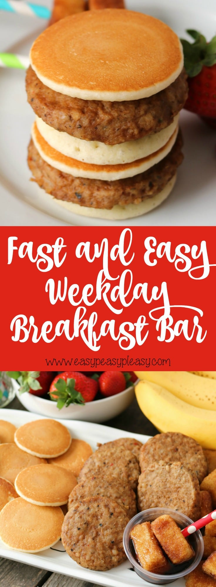 Fast and Easy Weekday Breakfast Idea your kids will love!