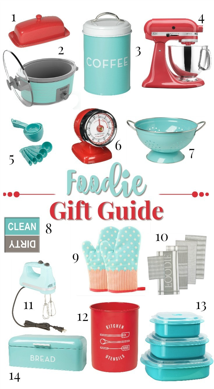 Foodie Gift Guide makes shopping easy. Get your foodie gifts they will love! easypeasypleasy.com
