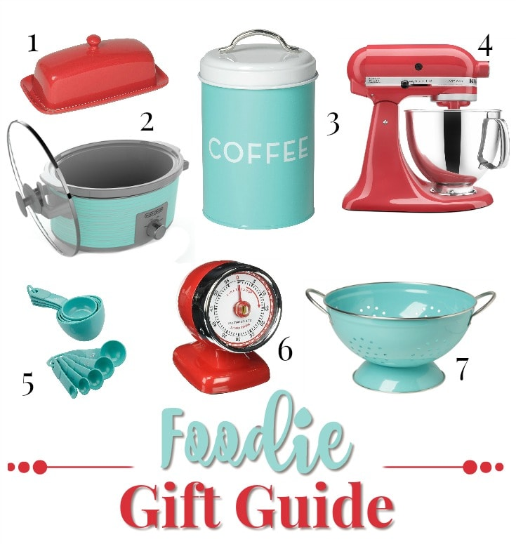 Buying gifts for a foodie? This Foodie Gift Guide makes shopping easy!