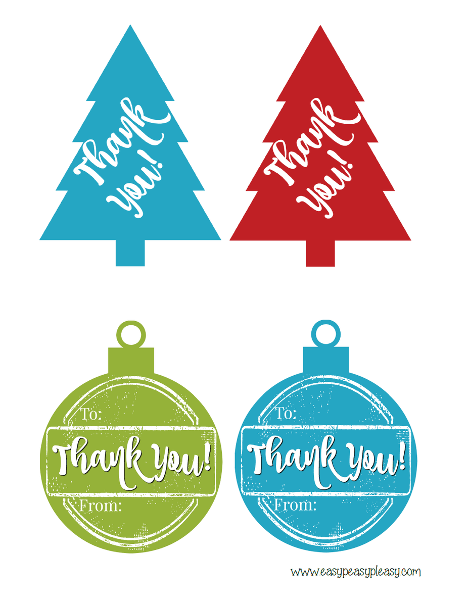 Free Printable Thank You Hostess Gift Tags