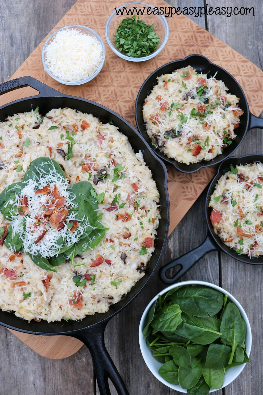 Cheesy Chicken and Bacon Rice Casserole