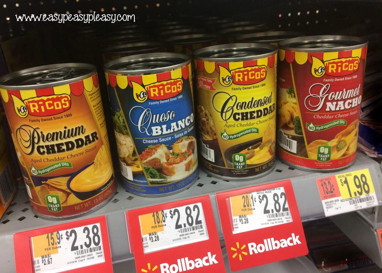 #RicosCheesePlease at Walmart!