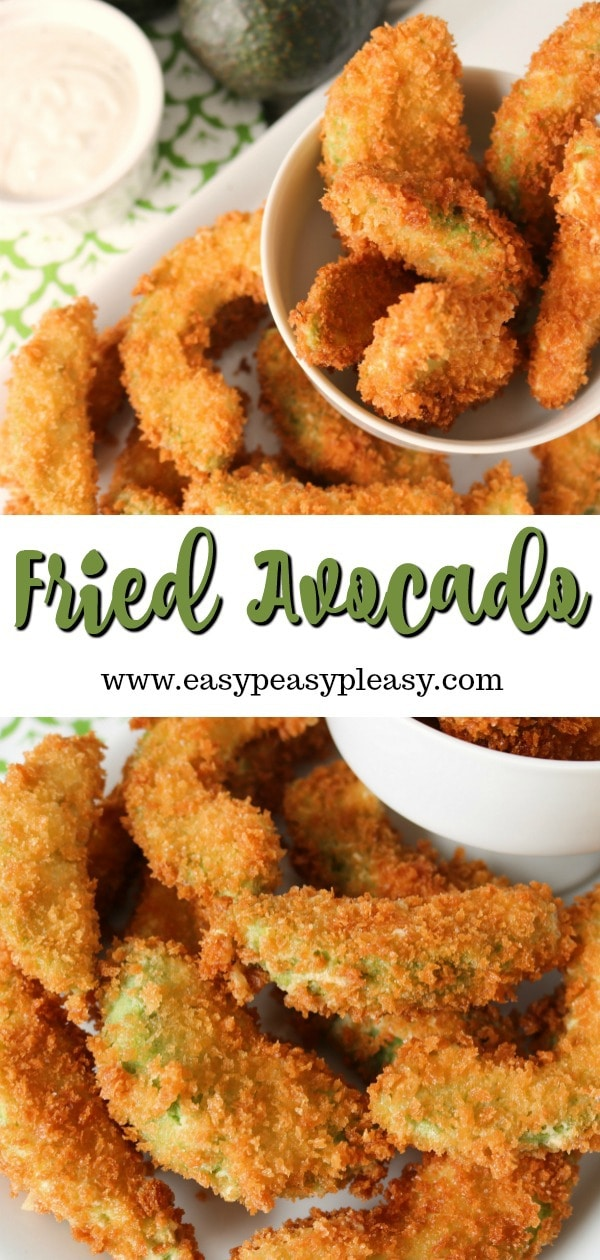 Avocado lovers beware! These fried avocados are totally addictive and a perfect appetizer for your next party. #appetizer #avocado #partyfood #recipe