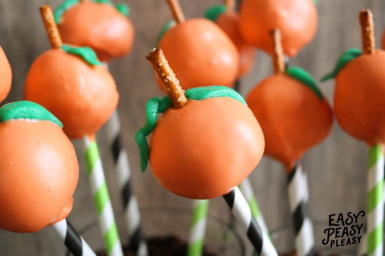 Easy Donut Hole Pumpkin Pops Using only 5 Ingredients