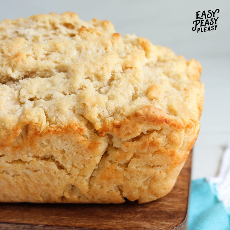 4 ingredient Beer Bread that is yeast free.