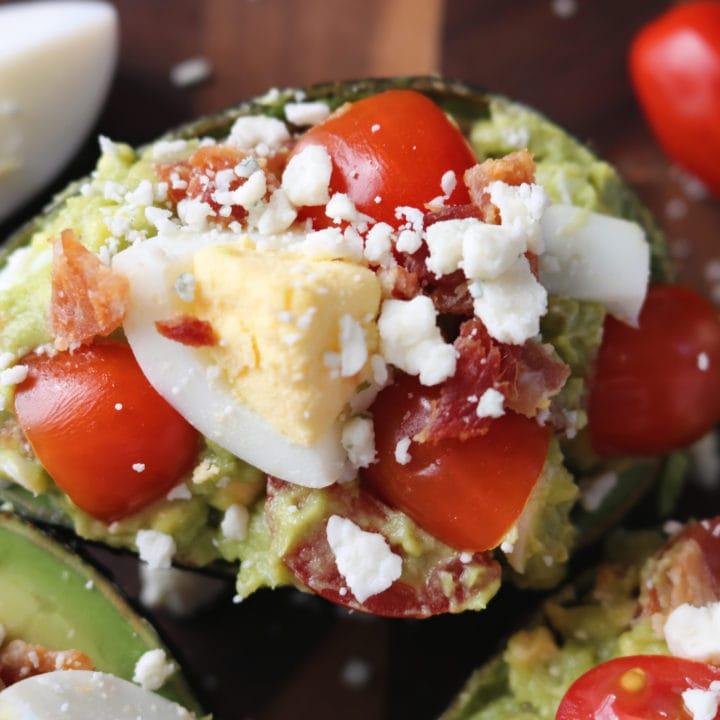 Cobb Salad Stuffed Avocados