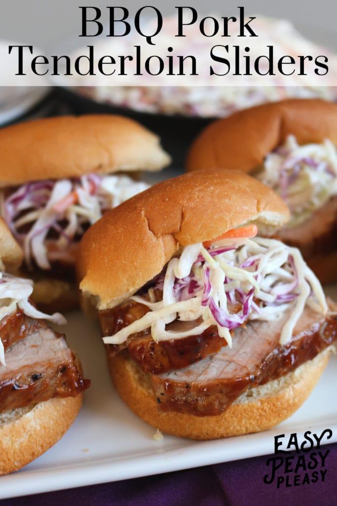 Easy BBQ Pork Tenderloin Recipe using just a few ingredients.