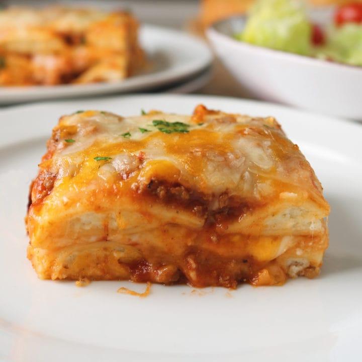 Lazy Lasagna Ravioli