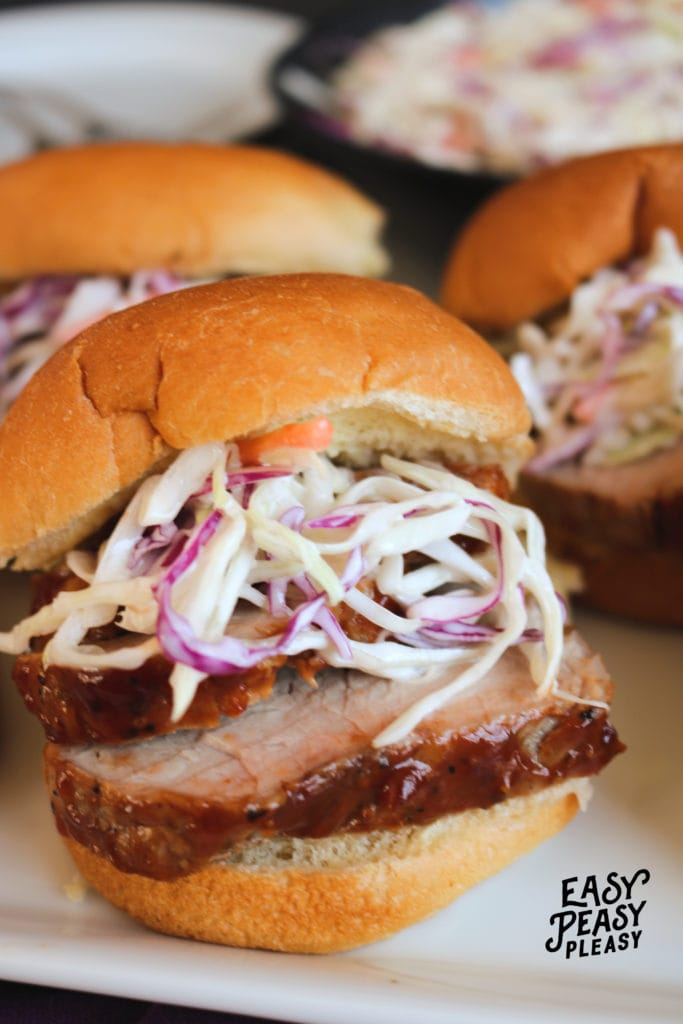 Make up this Easy BBQ Pork Tenderloin Recipe using just a few ingredients.