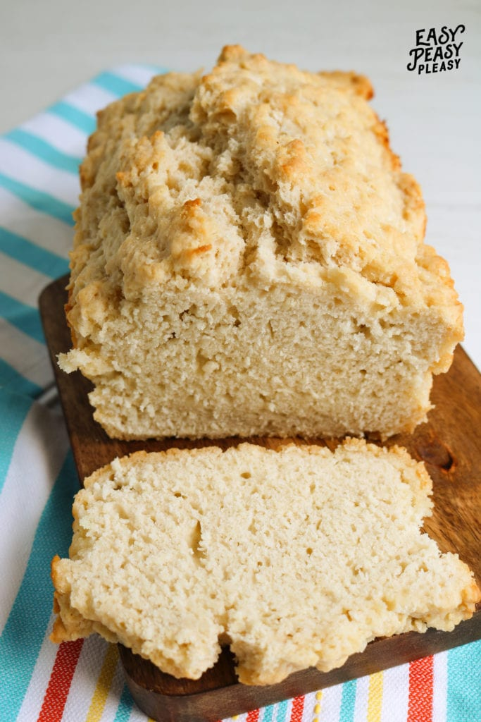 There is no need for yeast in this easy 4 ingredient Beer Bread.