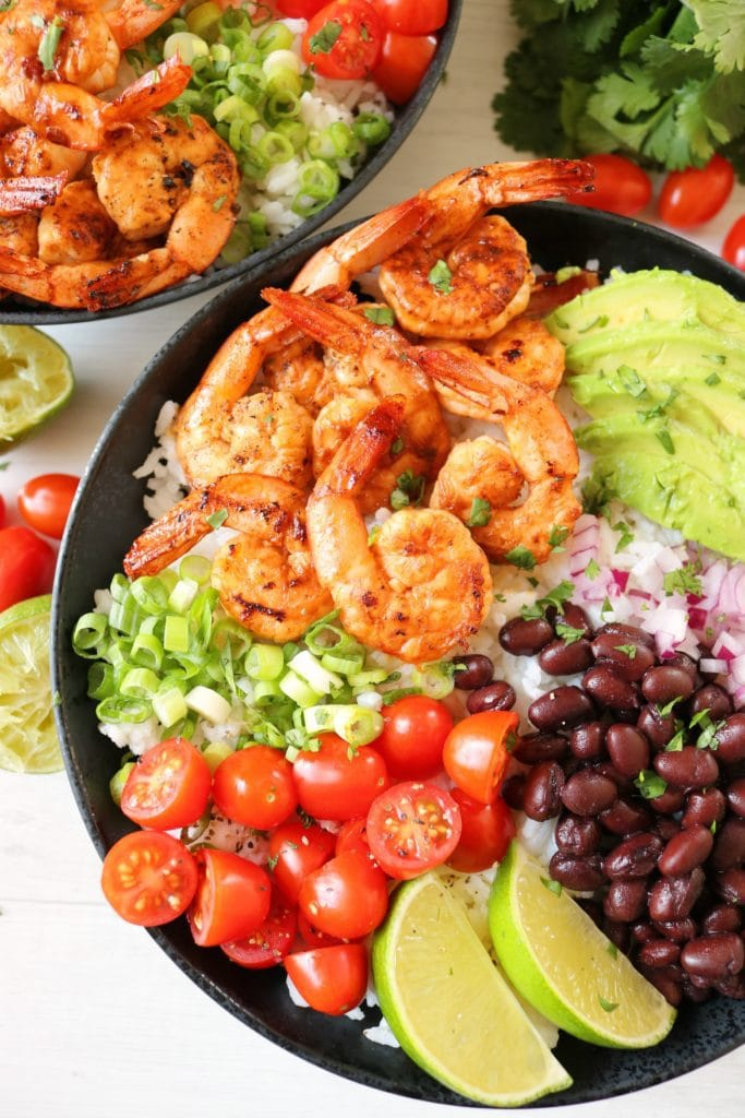 Chipotle Lime Shrimp Bowl